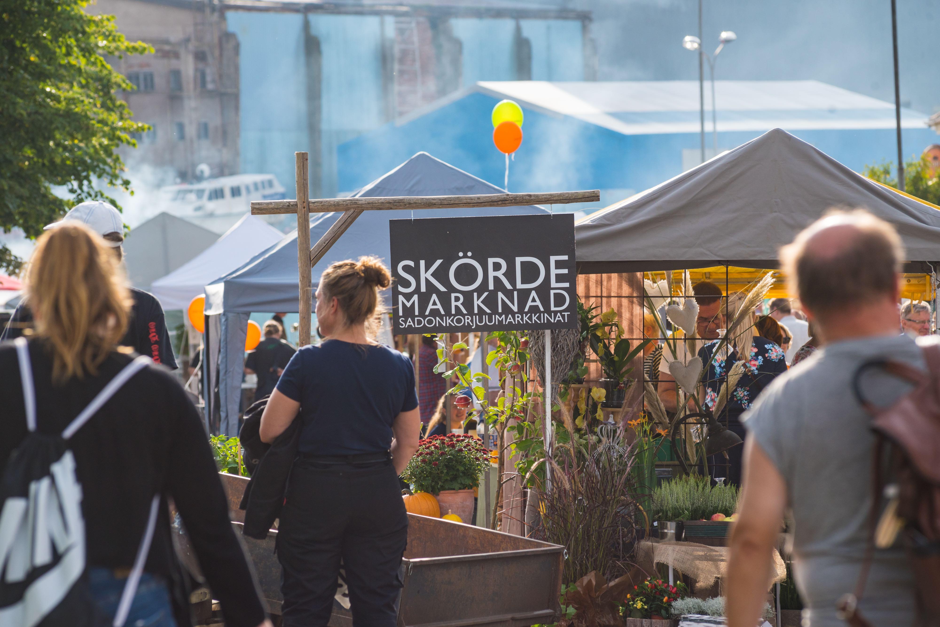 Skördemarknad under September Open